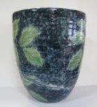 他の写真1: 清水焼 藤平正文作 織部ゴスふくろう花瓶