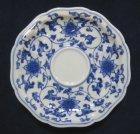 他の写真2: 有田焼 其泉窯 天平唐草コーヒー碗皿(青)