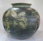 他の写真3: 清水焼 藤平正文作 布目ぶどう花瓶